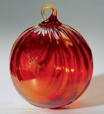 Red Drape Christmas Ornament