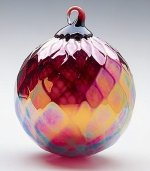 Ruby Diamond Christmas Ornament
