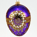 Faberge Inspired Purple Egg